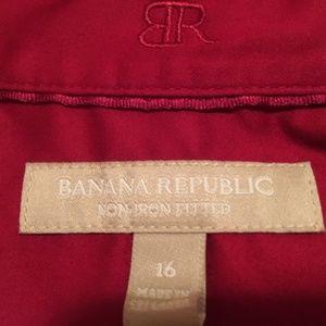 Banana Republic Tops - Banana Republic button down shirt size 16